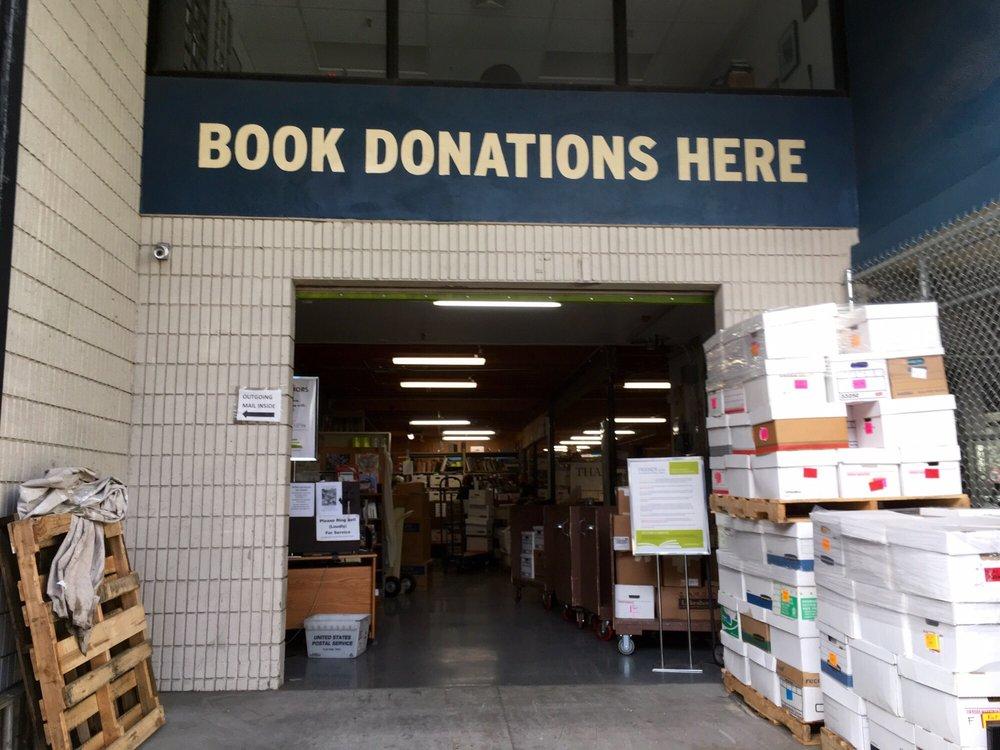 Friends of San Francisco Public Library Book Donation Center: 1630 17th St, San Francisco, CA