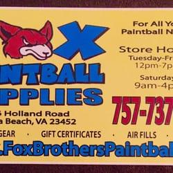 Fox brothers paintball supplies paintball 4326 holland rd photo of fox brothers paintball supplies virginia beach va united states retail reheart Choice Image