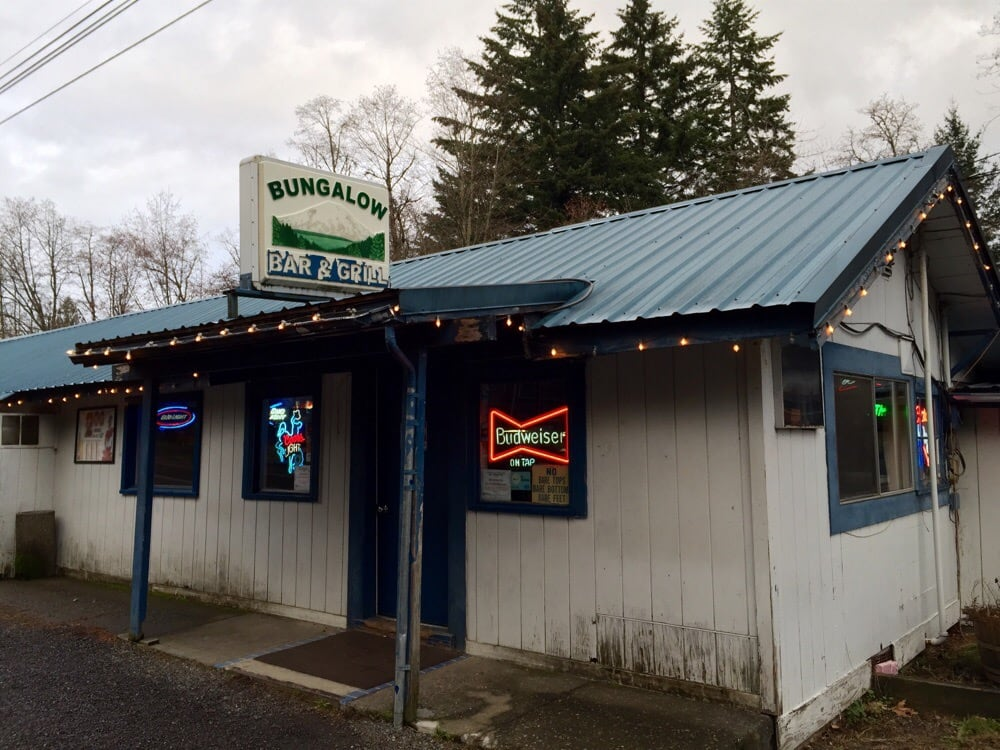 Bungalow Bar & Grill: 812 Wind River Hwy, Carson, WA