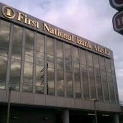 First National Bank Alaska Banks Credit Unions Anchorage Ak