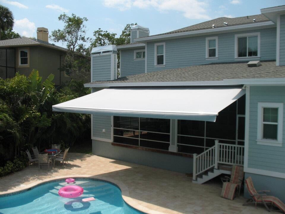 sunsetter awning ideas patio clearwater luxury of west design retractable home awnings tampa new