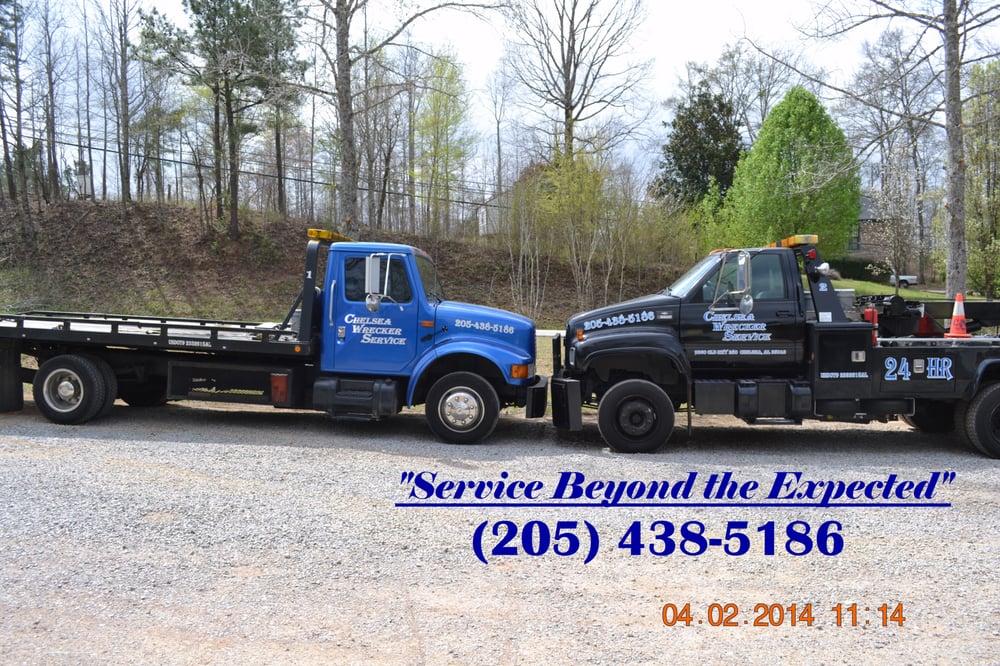 Chelsea Wrecker Service: 9360 Old Hwy 280, Chelsea, AL