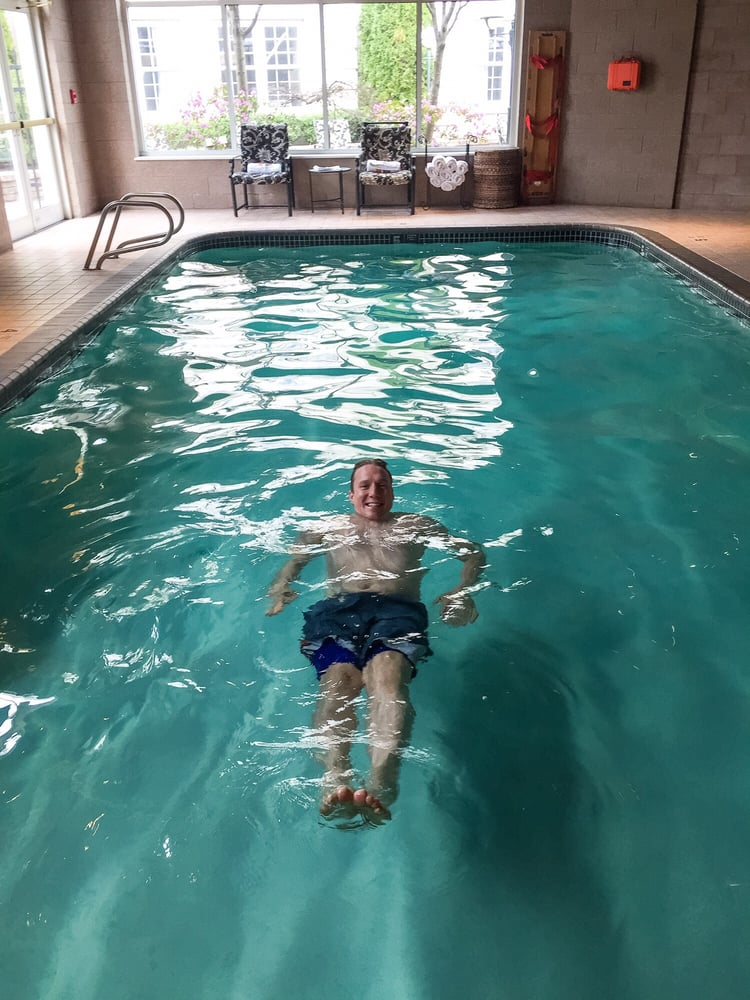 Swimming In The Indoor Pool Yelp