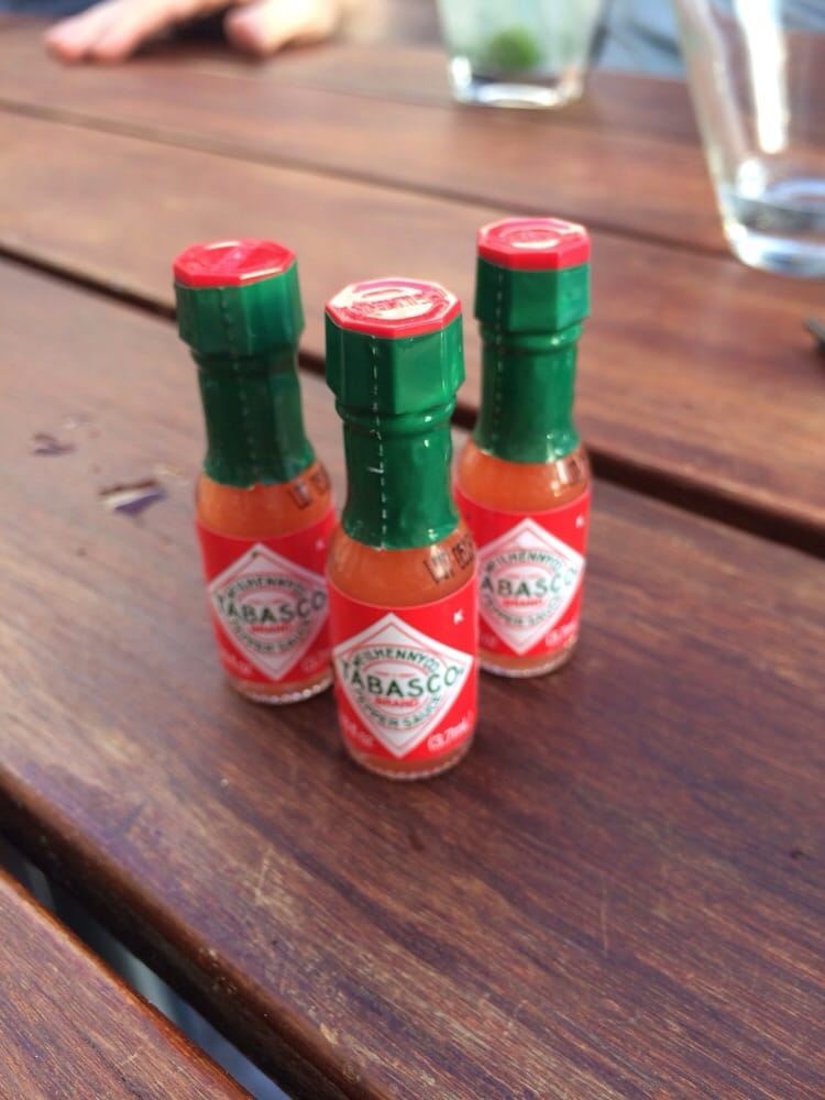 Mini Baby Tabasco Come With The Seafood Tower Immma Put