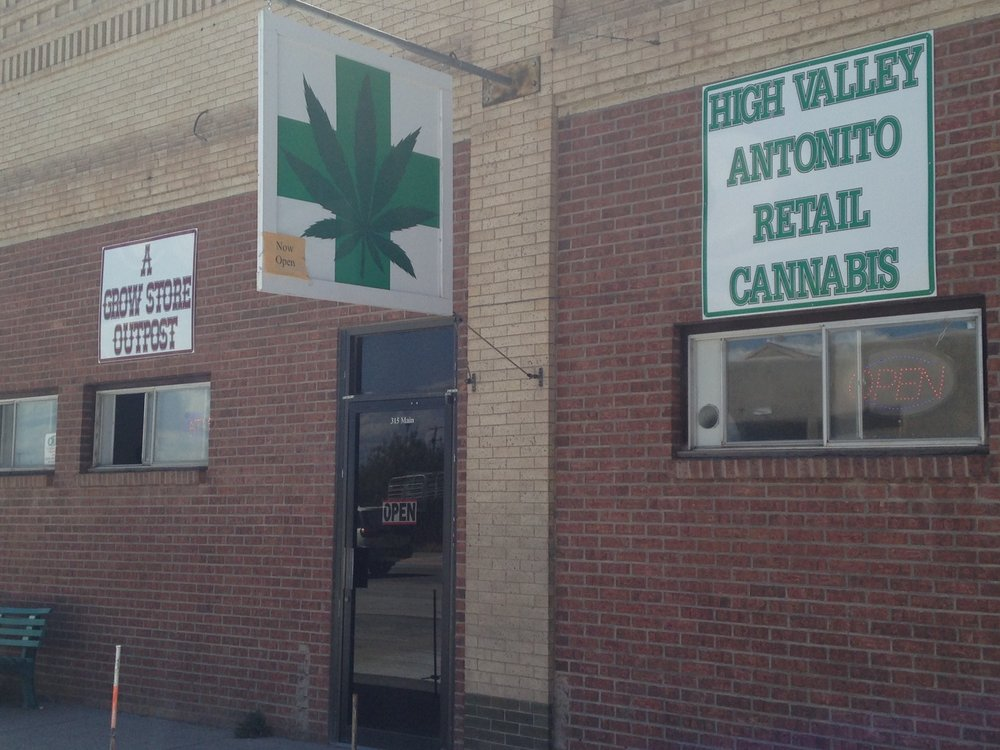 High Valley Antonito Retail Cannabis: 315 Main St, Antonito, CO