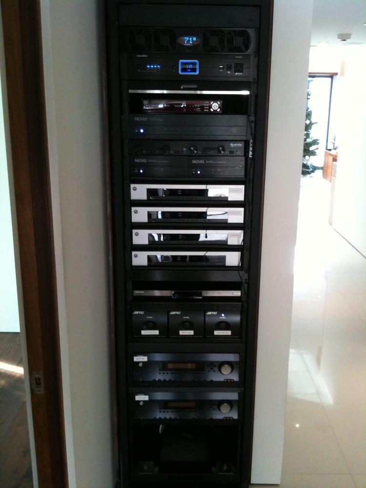 Whole Home Av Rack 3 Surround Zones 8 Independent Audio