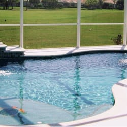 Majestic custom pools closed pool cleaners 115 for Pool designs venice