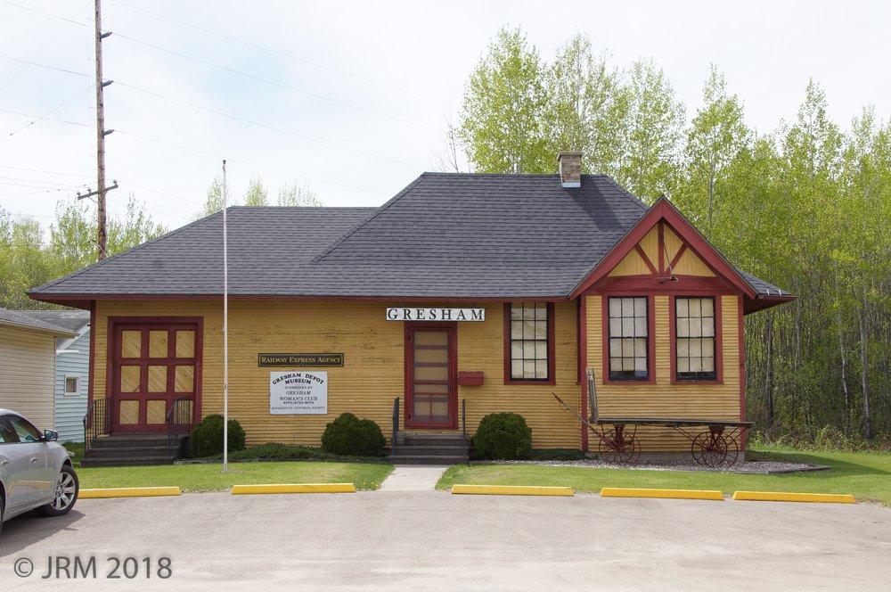 Gresham Depot Museum: 1311 Main St, Gresham, WI
