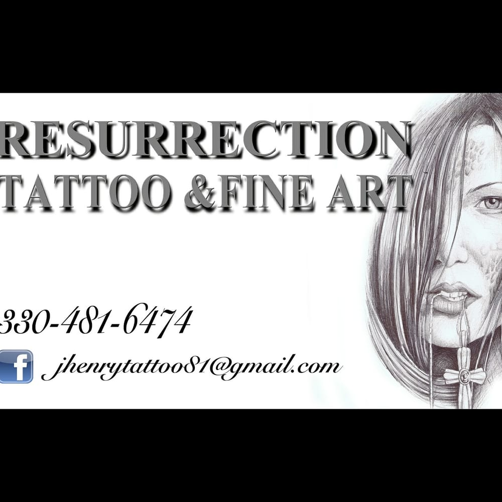 Custom quality tattooing and fine art painting for Tattoo shops canton ohio