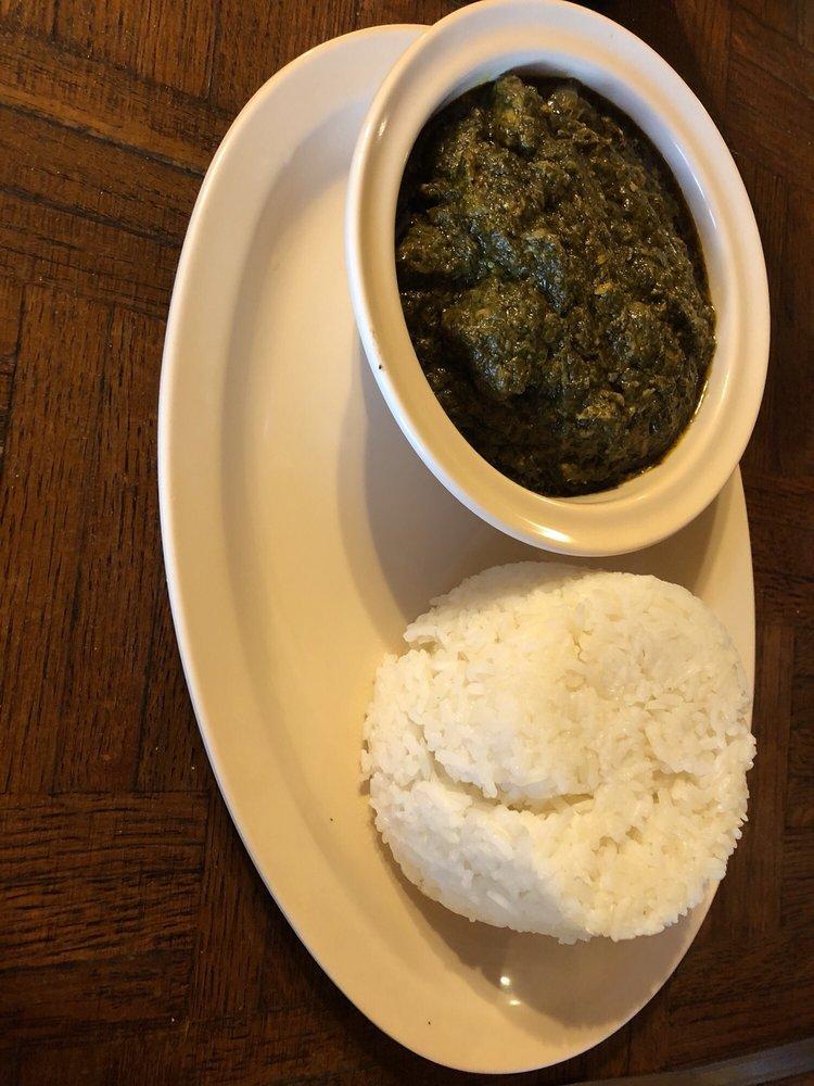 Food from Kontiki African Restaurant