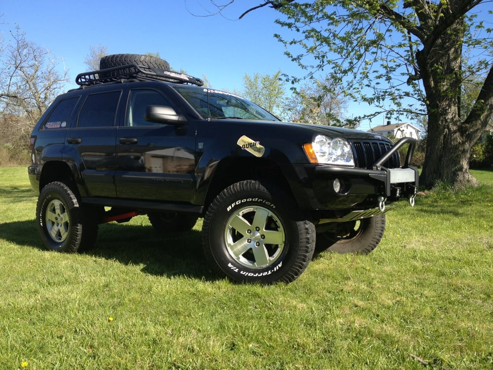 Jeep Grand Cherokee With 8 Quot Lift Kit And 4xguard Rock