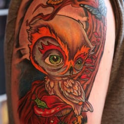 Lead sled devils kustom tattooing and body piercing 30 for Tattoo oklahoma city ok