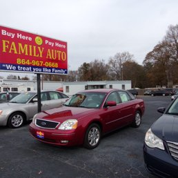 Local Buy Here Pay Here Car Lots >> Family Auto Of Simpsonville Get Quote 38 Photos Used Car