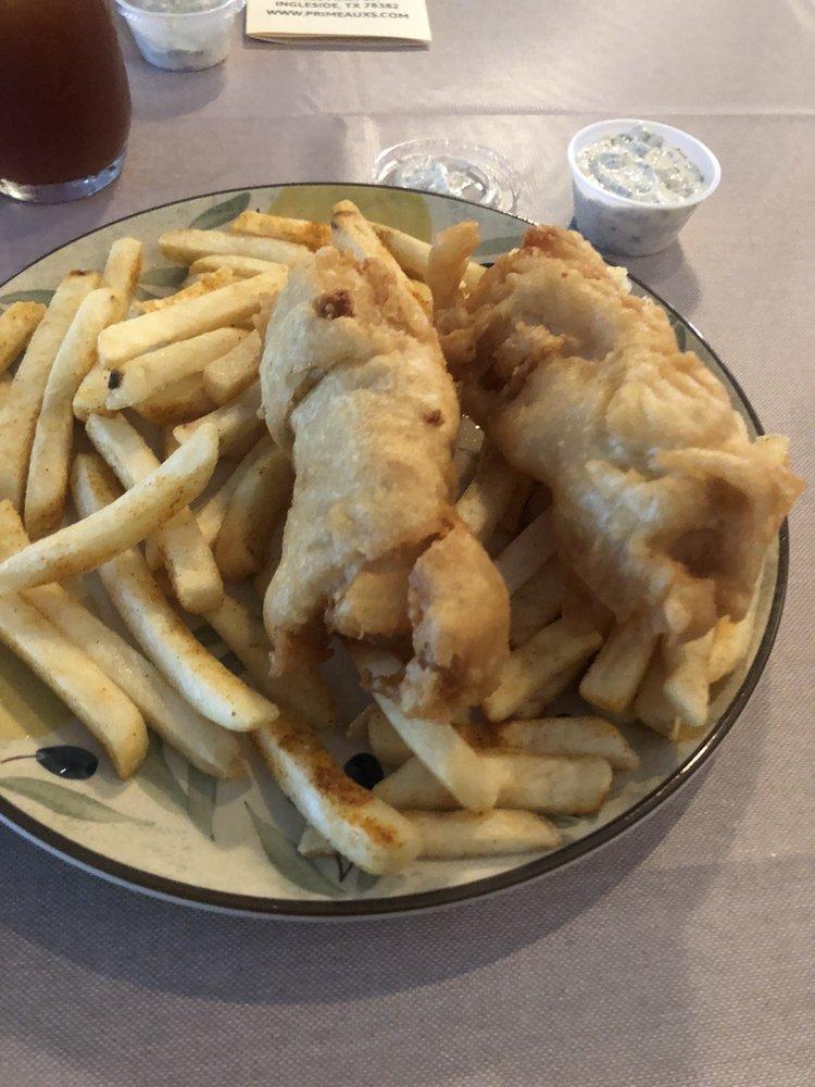 Primeaux's Coastal Cafe: 3063 N Main St, Ingleside, TX