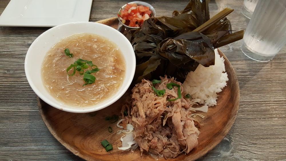 Hawaiian Plate ($20.99) includes pork Lau Lau, kalua pork, chicken ...