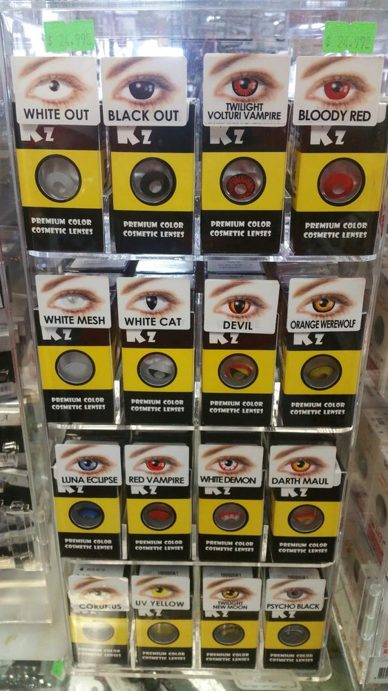 o just got this halloween eye contact from meme beauty supply this