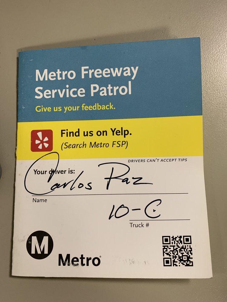 Metro Freeway Service Patrol - 511 - 589 Photos & 179