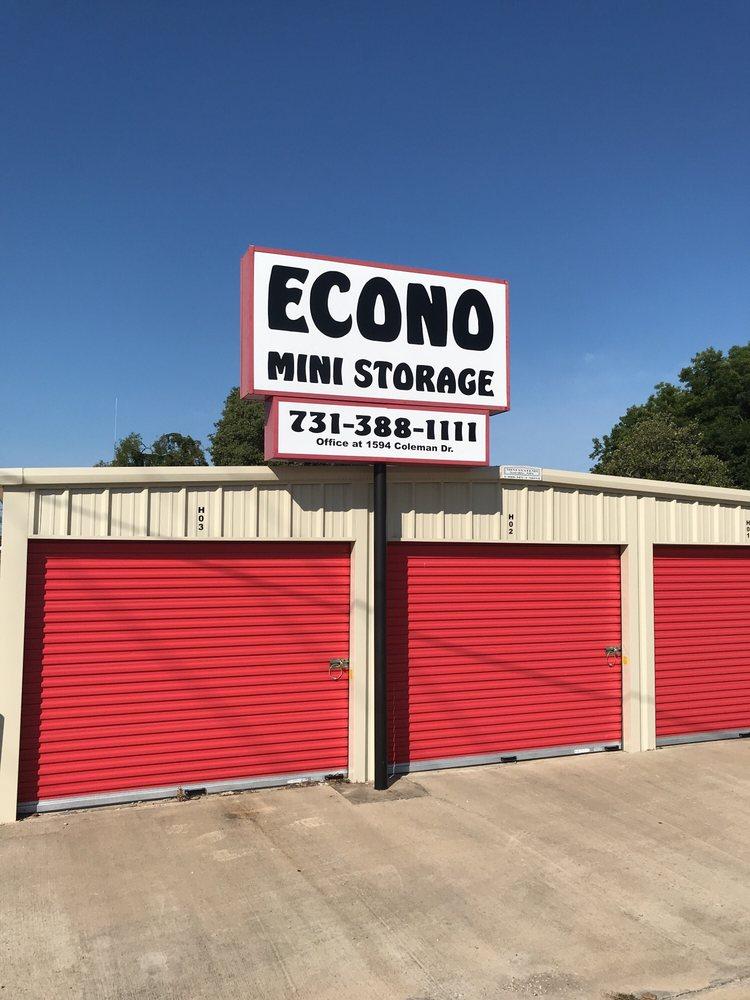 Econo Mini Storage: 1594 Coleman Dr, Humboldt, TN
