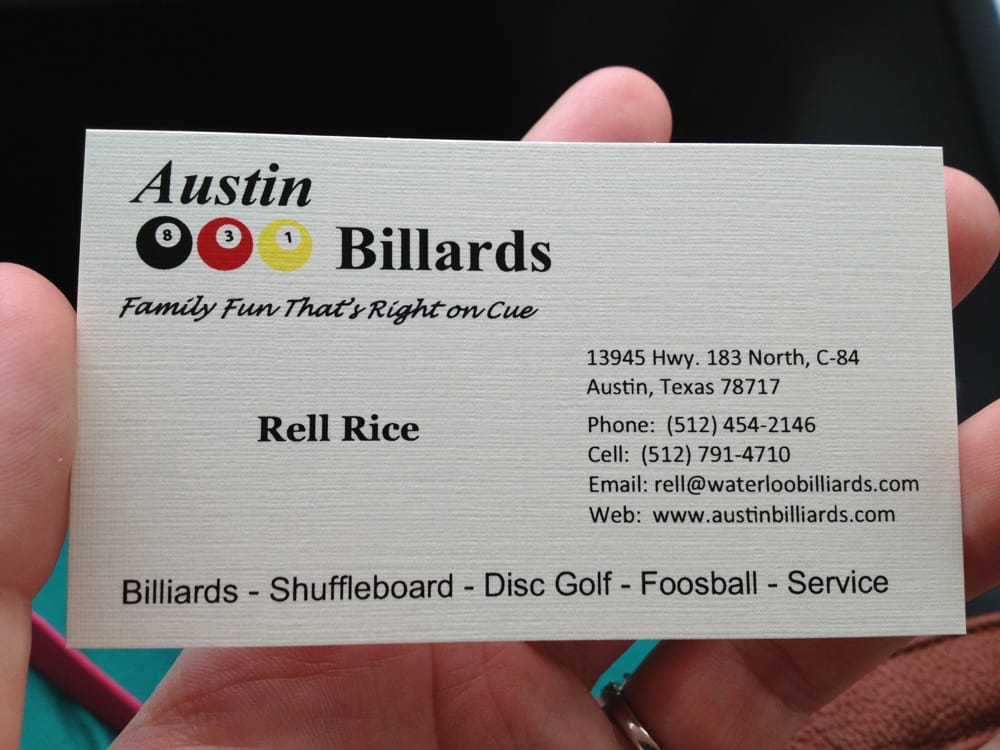 how to write an address on a business card