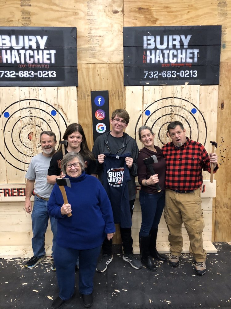 Bury the Hatchet Freehold - Axe Throwing: 916 Park Ave, Freehold, NJ