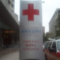 New York Downtown Hospital Hospitals 100 William St Financial
