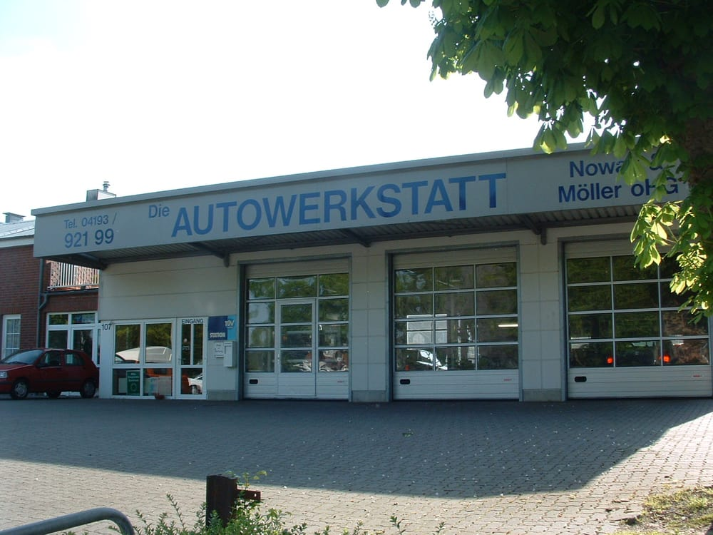 Die autowerkstatt nowak m ller garages hamburger str for Landesbauordnung schleswig holstein carport