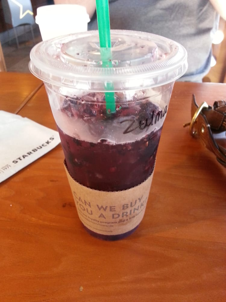 My Very Berry Refresher Is Only 100 Calories For A Venti Love My