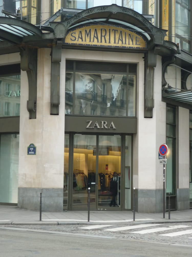 zara men 39 s clothing 15 rue du pont neuf ch telet les halles paris france phone number. Black Bedroom Furniture Sets. Home Design Ideas