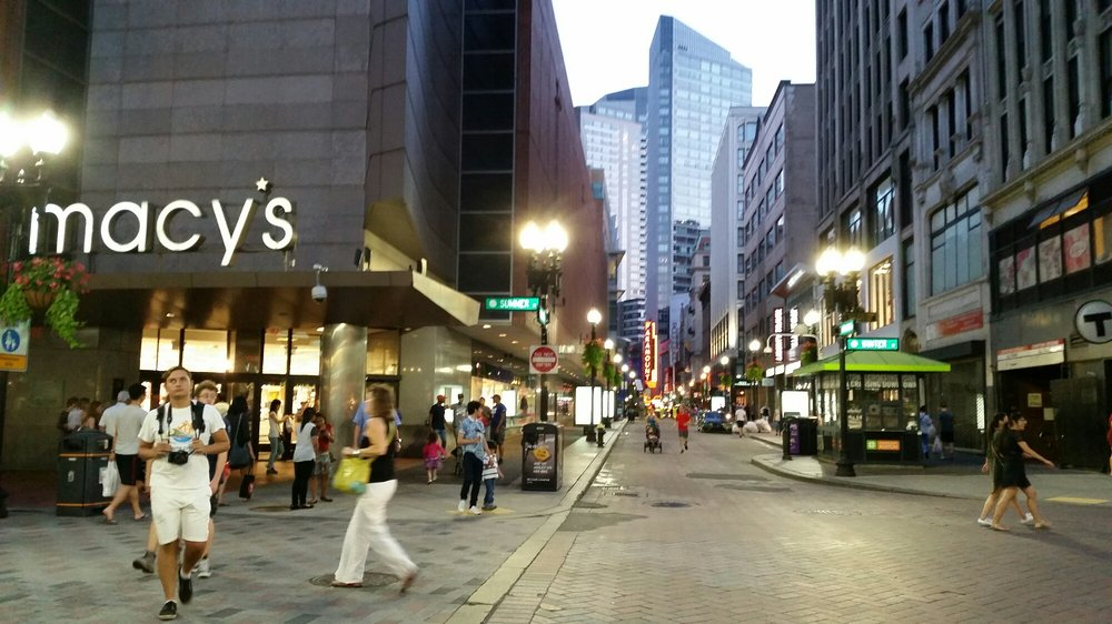 Photo Of Downtown Crossing Boston Ma United States Macy S Restaurants