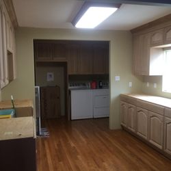 Photo Of Millbrook Kitchens   Paramount, CA, United States. Just Before  Staining Full