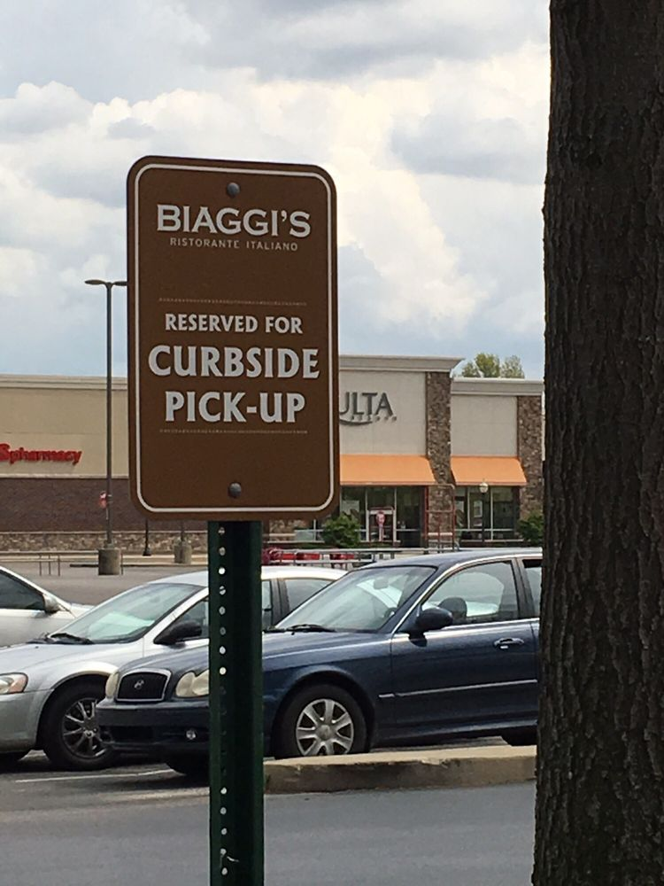 Photo Of Biaggi S Ristaronte Italiano Evansville In United States Curbside Pickup