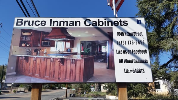 Photo For Bruce Inman Cabinets