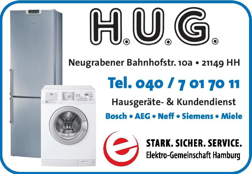 h u g hausgeräte appliances repair neugrabener bahnhofstr