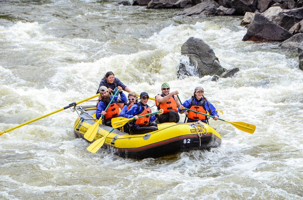 Social Spots from Whitewater Rafting