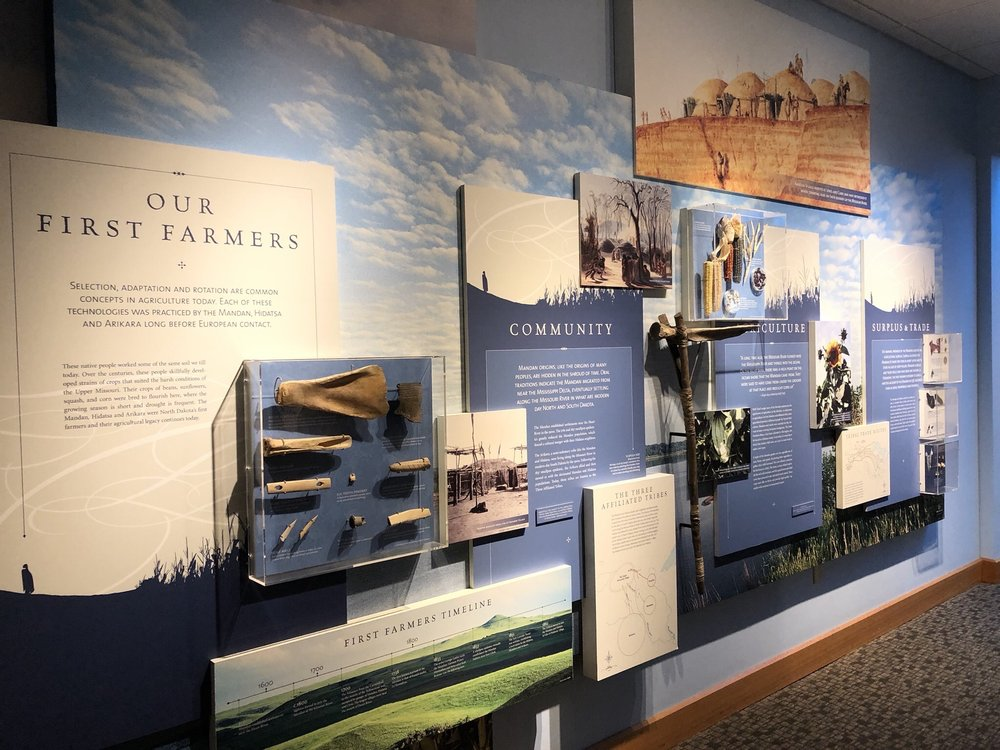 Lewis & Clark Interpretative Center: 2576 8th St SW, Washburn, ND