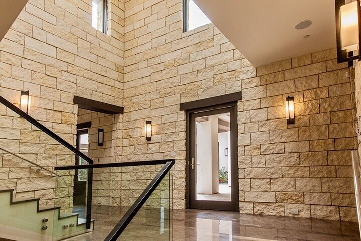 Bringing The Outdoor Indoor With Masonry Touches