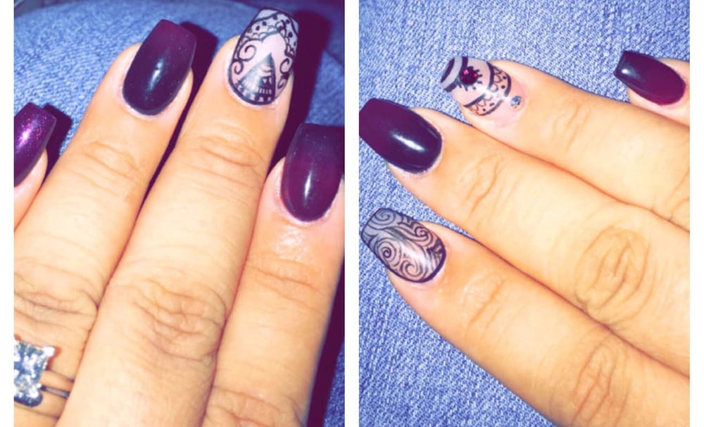 Ombré nails and nail art by Alondra! - Yelp