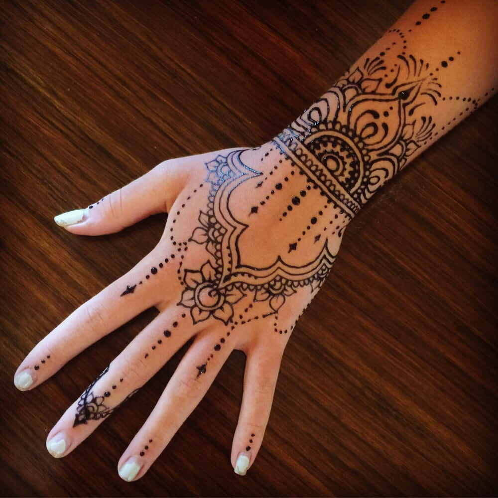 Jagua Temporary Tattoos A Beautiful Way To Decorate Your Hands Yelp