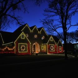 photo of dfw christmas lights garland tx united states led christmas lights