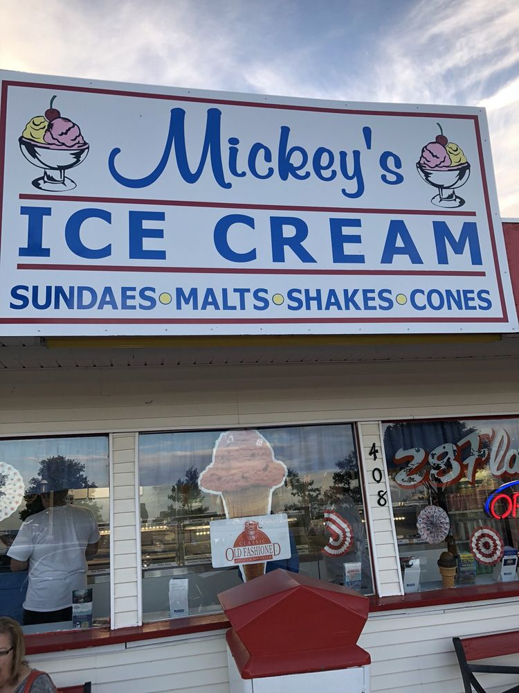 Mickey's Ice Cream: 408 S Huron Rd, Mackinaw City, MI