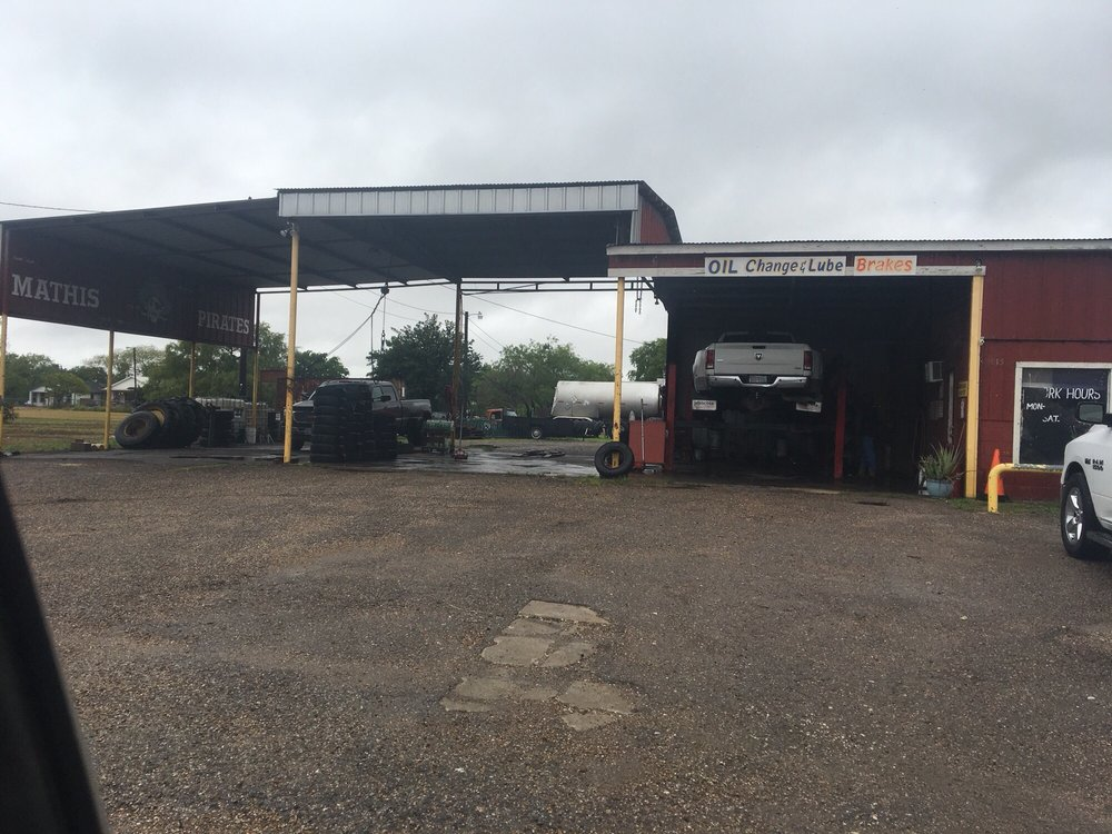 Trevino's Tire Shop: 815 N Front St, Mathis, TX