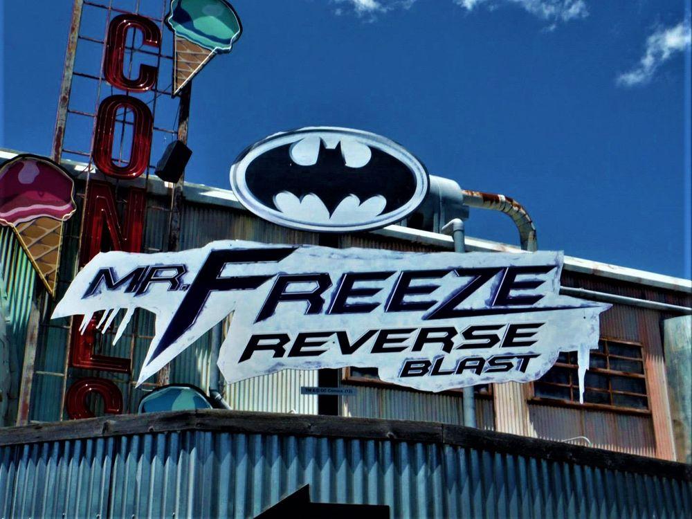 Mr. Freeze Reverse Blast: 2201 Rd To Six Flags St E, Arlington, TX