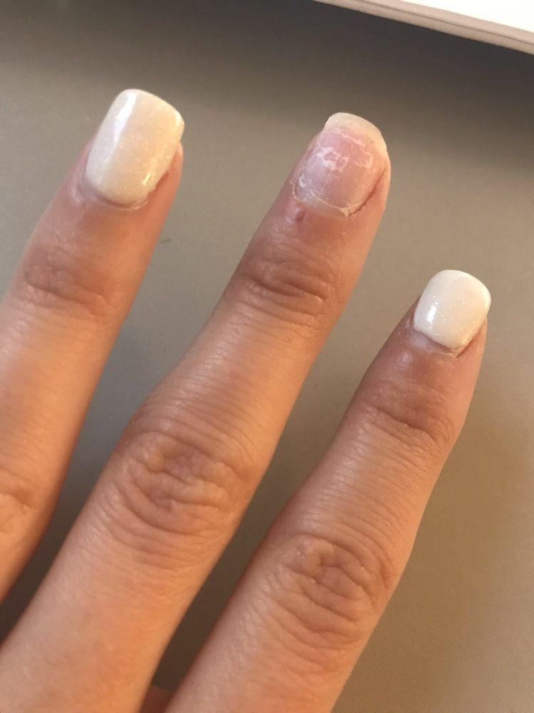 Put on 5/17, coming off on 5/26... awful nail salon - Yelp