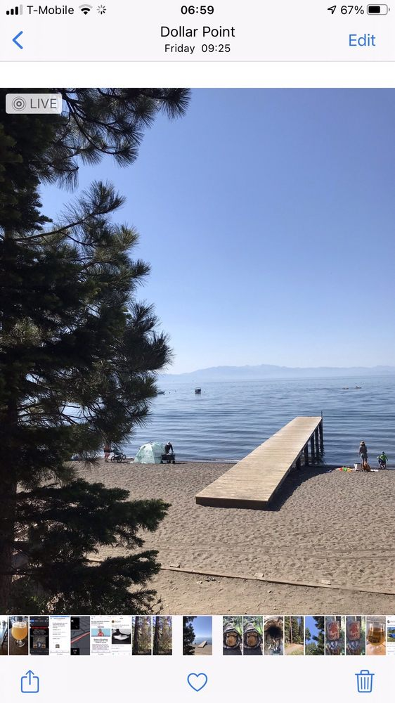 Skylandia State Park & Beach: Lake Forest Rd, Tahoe City, CA