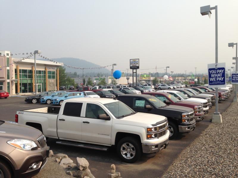 Central chevrolet gmc buick ltd 11 photos car dealers for Motor mile auto sales