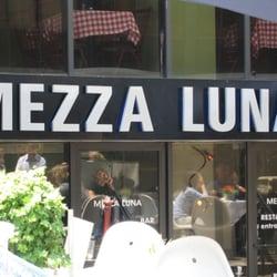 Mezza Luna Restaurant logo