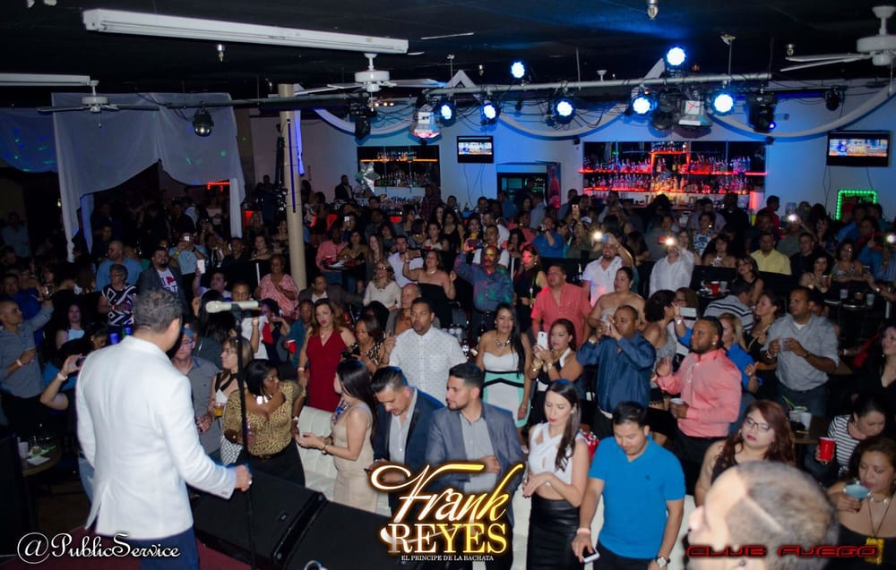 Frank Reyes Live At Club Fuego April 23rd 2016 Yelp