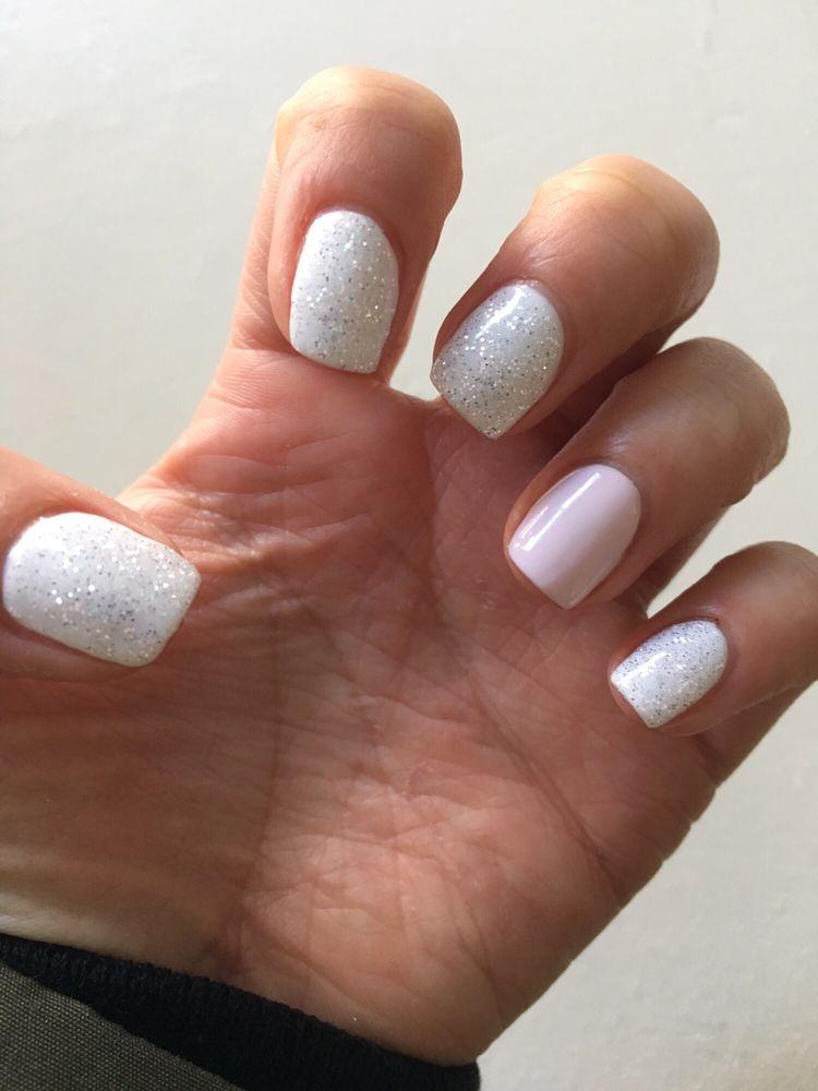 Perfect nails for my Florida vacation coming up! Teresa did an ...