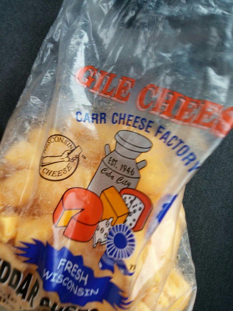 Gile Cheese Store: 116 N Main St, Cuba City, WI