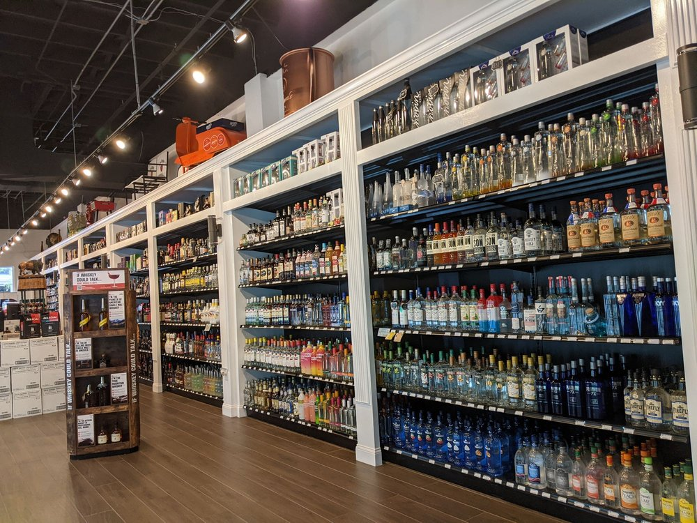The Liquor Library & Wine Market: 131 N Orange Ave, Orlando, FL